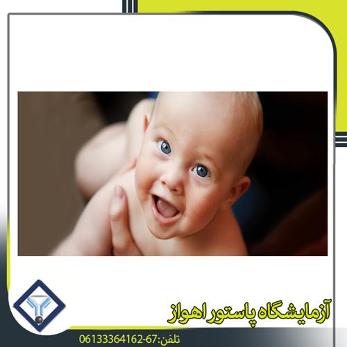 تشخیص کم کاری تیروئید در نوزادان و کودکان