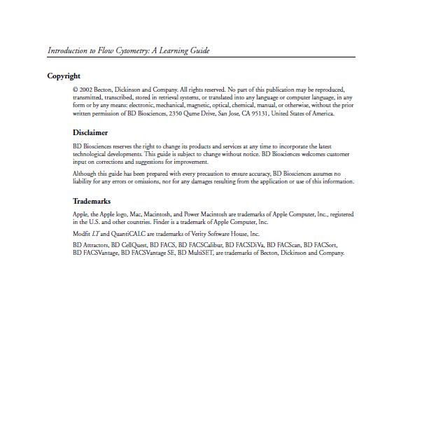 راهنمای مقدماتی آموزش فلوسایتومتری 2