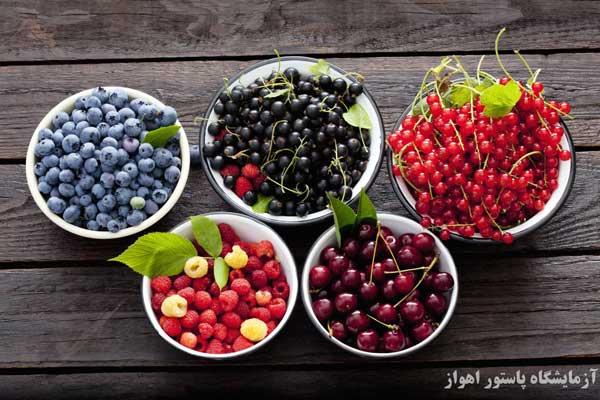 تاثیر مصرف توت بر کاهش فشار خون