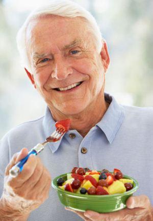 تغذیه خوب، دوران پیری سالم تر!