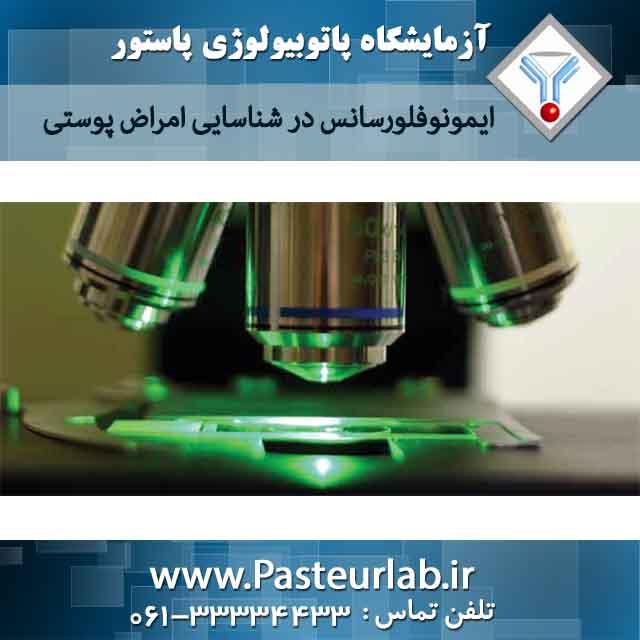 ایمونوفلورسانس در شناسایی امراض پوستی